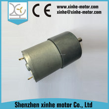 100 RPM 12 v dc motor for toy car gear ratio 100:1