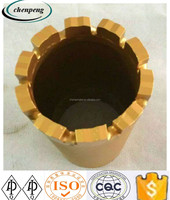 Chenpengwells drilling machine diamond core drill bits for mining and quarrying from china supplier