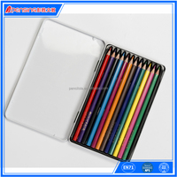 Arts and crafts activities for kids tin box 12 color pencil set