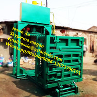 Best quality hydraulic vertical aluminum can baler for sale