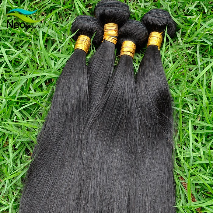 Factory Wholesale 100% celebrity brazilian hair bundles High Quality Silky Straight wave