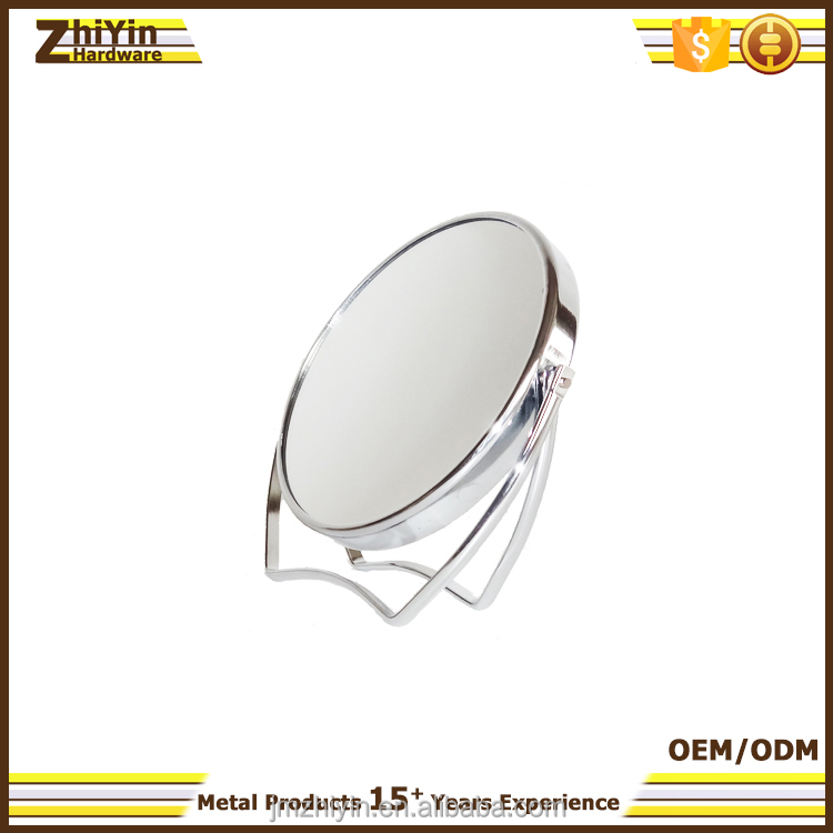 Decorative two face magnifying makeup mirror China manufacturer