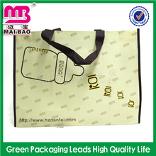 Top class ink printing china washable & durable non woven pp bag shopping