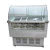 Ice cream show case/ice lolly display refrigerator with 16 pans