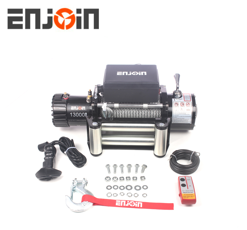 12v electric capstan winches , wire rope capstan winch