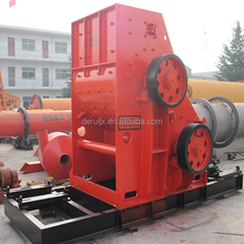 Construction Waste Double Roller Two Stage Hammer Crusher