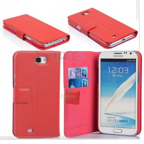 Cas de vente chaud Porte-monnaie en cuir PU Flip pour Samsung Galaxy Note N7100 2 cas P-SAMN7100CASE003