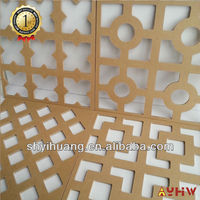20mm high denstity slotted MDF board with good property