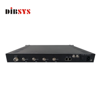 wireless tv broadcasting equipment DVB-S/S2/S2X Modulator option Carrier ID