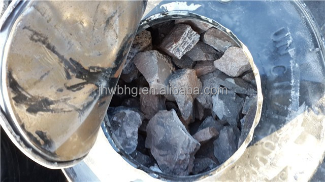 calcium carbide 50-80MM with gas yield 295l/kg min