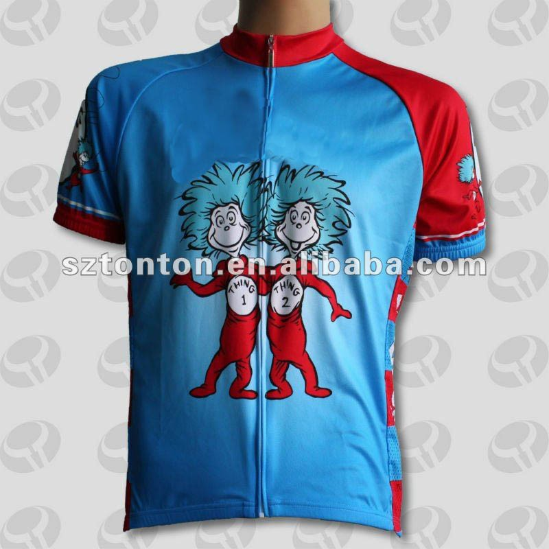 full invisible zip custom sublimation cycling jerseys