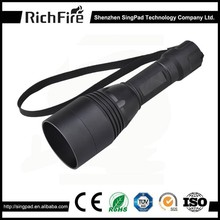zoomable hunter night hunting led flashlight