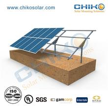 solar mounting structure support / solar ground screw piles mounting
