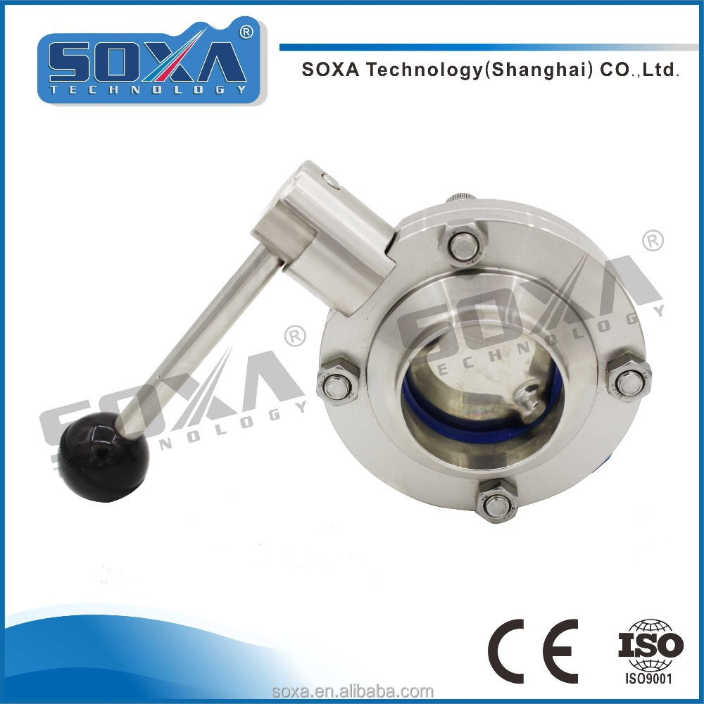Forged Stainless Steel Welded Butterfly Valve