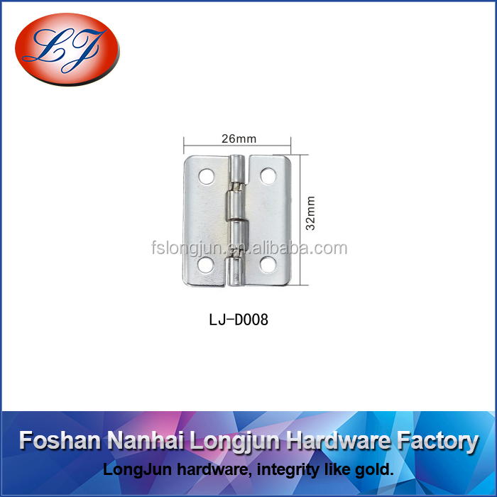 LJ-D008 90 degree stop iron hinges for box