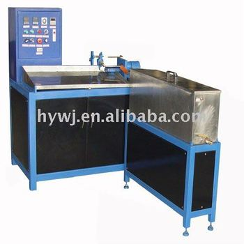 made in china automatic pvc plastic spiral forming machine