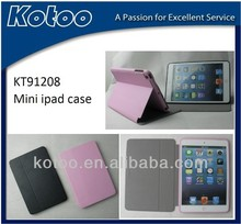 Nice PU ultrathin case for mini ipad smart cover