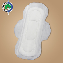 Female Cotton Japan Wood Pulp Pad Belted Ladies Sanitary Napkins