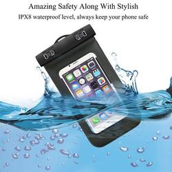 Universal Waterproof Case, Cell Phone Dry Bag for Apple iPhone,Samsung Galaxy waterproof golf bag