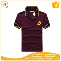 Yiwu t-shirt manufacturer cheap wholesale mens polo shirt cotton