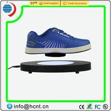 Nouvelle invention! Lévitation magnétique led display stand pour chaussures femme, $ 1 dollar chaussures