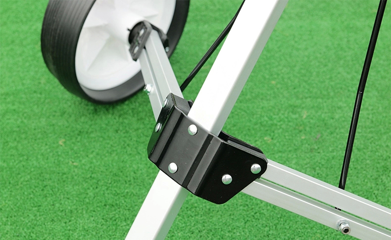 Foldable Golf trolley with water bottle