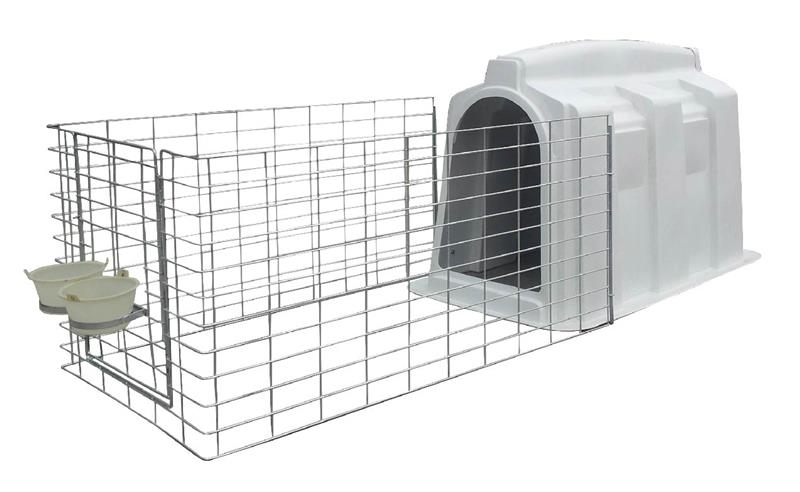 Brand new individual calf hutchs with low price