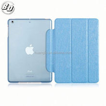 Factory supply Super thin leather case for ipad mini