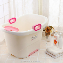 Eco-friendly colorful plastic large children kids bath tub