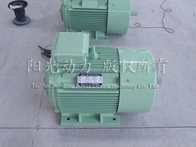 15kW Brushless PM Motor for Vehicle With Drive