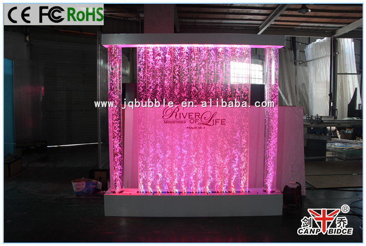 Floor standing bubble wall room dividers with customized logos