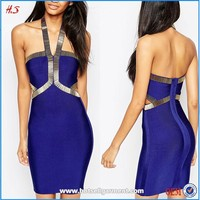 New Arrival Woman Sexy Body-Conscious Cocktail Dress