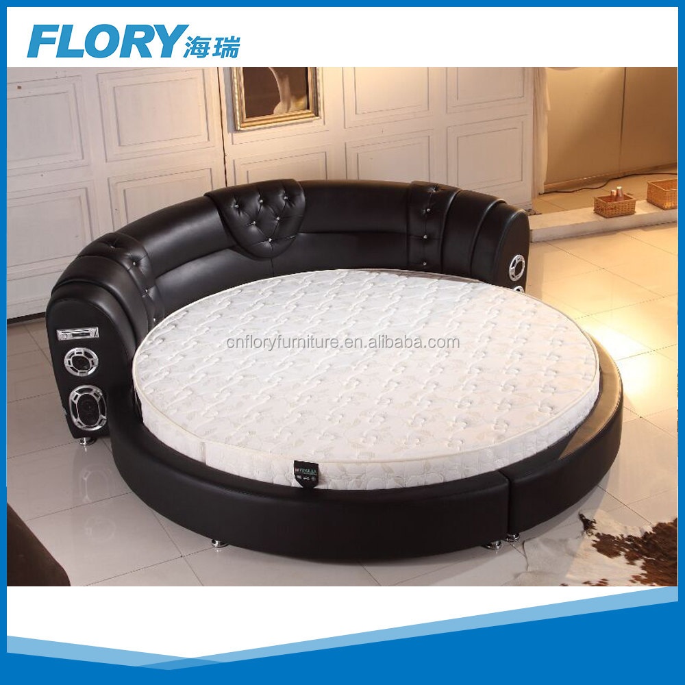 Luxury Bedroom Set Led Light Round Shape Bed   Buy Led Light Bed,Round  Platform Bed,Concise Style Round Bed Product On Alibaba.com Part 78