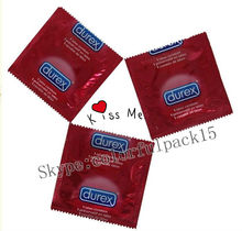 Customized plastic condom packaging/empty packaging for condom/easy tear
