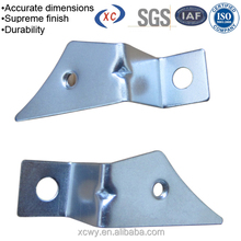 Custom sheet metal stamping stainless steel right angle brackets