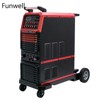 Funwell tig aluminum welder super 200p ac dc pulse single phase arc welding machine