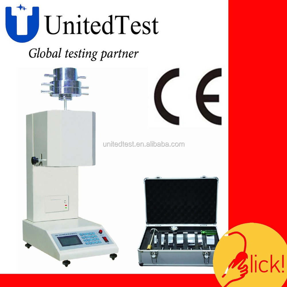 plastic melt flow indexer/digital melt flow rate tester