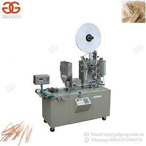 Most Popular Tooth Pick Paper Bag Packaging Wrapping Machinery Toothpick Packing Machine
