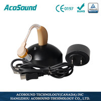 AcoSound Acomate Recharger-Plus rechargeable For elder Easy use hearing aids