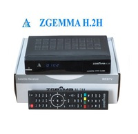 International satellite tv receiver with dvb-s2 dvb t2/c satellite receiver with dual core cpu ZGEMMA H.2H