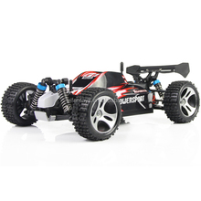 WLTOYS A959 2.4G 1/18 SCALE 4WD RC TRUCK VEHICLE 4 WHEEL DRIVE REMOTE CONTROL RACING CAR FOR SALE