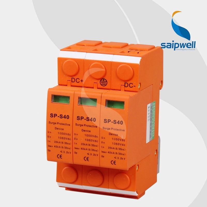China supplier Saip/Saipwell new designed surge protector lightning arrester