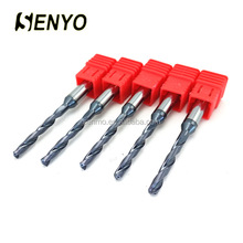 Senyo Coolant Hole Drills Coated TiAlN Carbide Drills For Stainless Steel