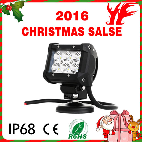 Christmas Sales!!!!18W C ree LED Work Light 4WD Spot Beam SUV ATV led work light