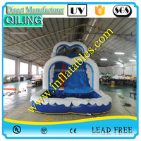 cheap commercial inflatable slide /children inflatable giant slides/big water slides for sale