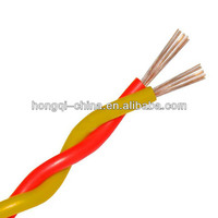 Copper Conductor PVC Insulation Fire Resistant Twisted Pair Cable