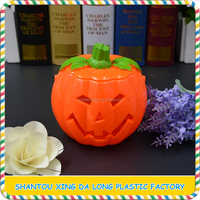 China supplier amazing Halloween pumpkin candy can