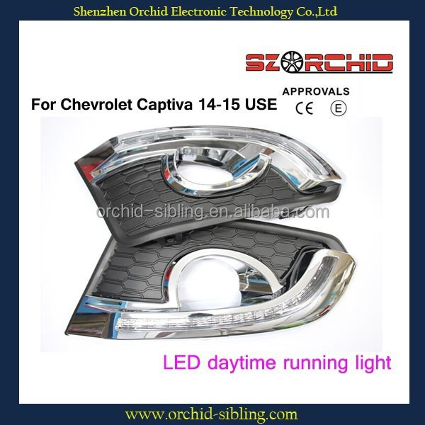 wholesale waterproof led daytime running light DRL for Chevrolet Captiva 14-15 use