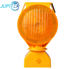 Wholesale customized durable practical traffic safety caution solar flashing amber light