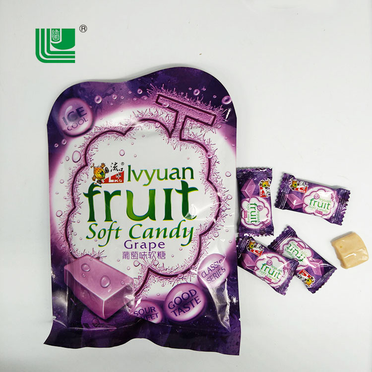 Fruit flavor sugus sweets soft chewy mix flavored grapes candy